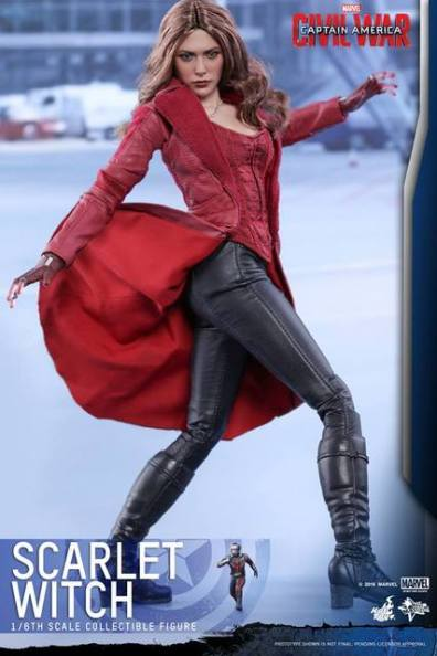 Hot Toys Scarlet Witch figure -turning with Ant Man