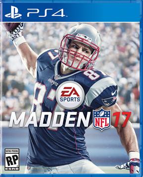 Madden NFL 17 Rob Gronkowski