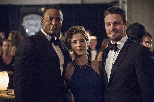 arrow - diggle, felicity and oliver