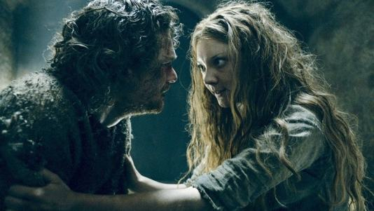 game of thrones book of the stranger review - loras and margaery-min