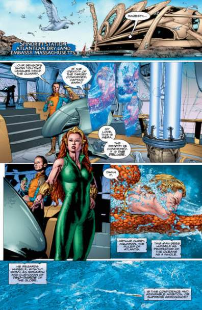 Aquaman Rebirth 1 page 3