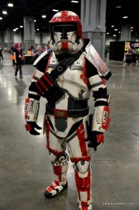 Awesome Con 2016 cosplay - Star Wars clone trooper
