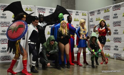 Awesome Con cosplay Day 2 -DC heroes