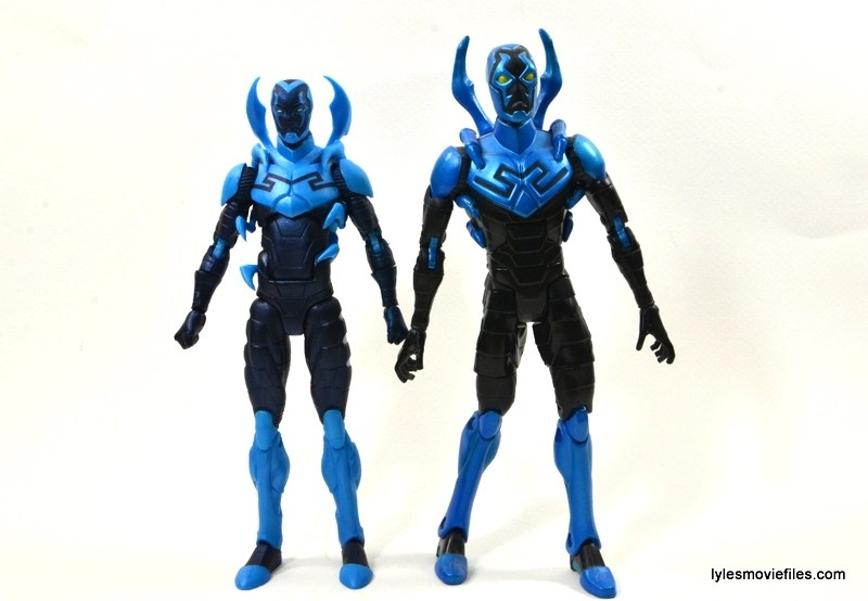 DC Icons Blue Beetle figure review -with DC Classics Blue Beetle