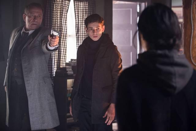 Gotham Pinewood - Alfred and Bruce Wayne