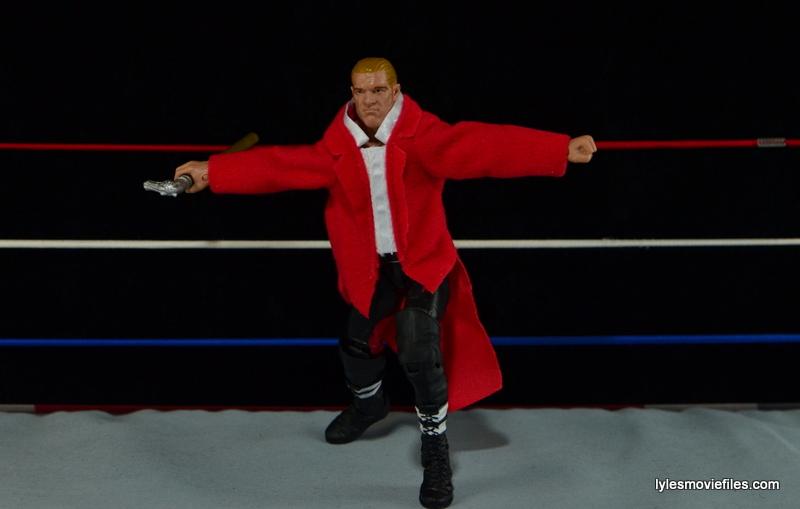 Hunter Hearst Helmsley WWE Network Spotlight figure -taking a bow