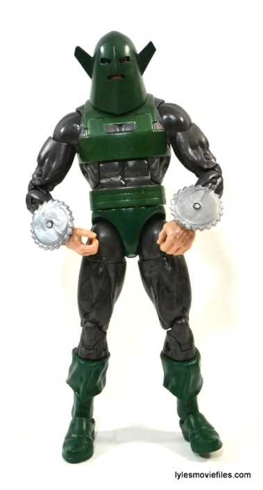Marvel Legends Whirlwind figure review -front