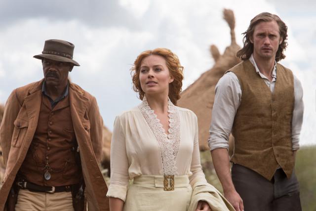 The-Legend-of-Tarzan-review-Samuel-L-Jackson-Margot-Robie-and-Alexander-Skarsgard.