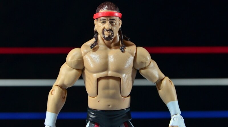 WWE Elite 41 Terry Funk figure review - main pic