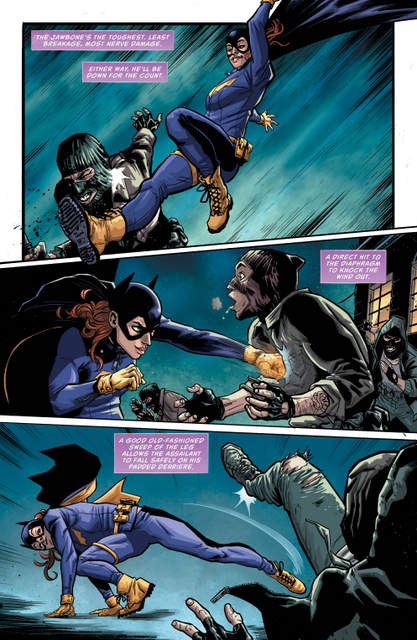 Batgirl and the Birds of Prey Rebirth 1 - page 3