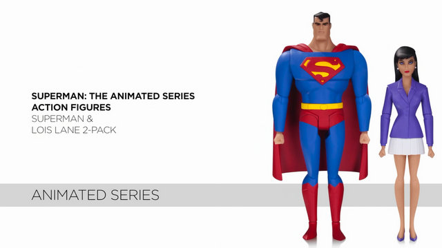 DCC Superman The Animated Series Superman and Lois Lane