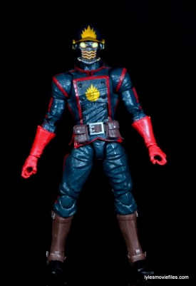 Guardians of the Galaxy Marvel Legends exclusive -Star-Lord straight