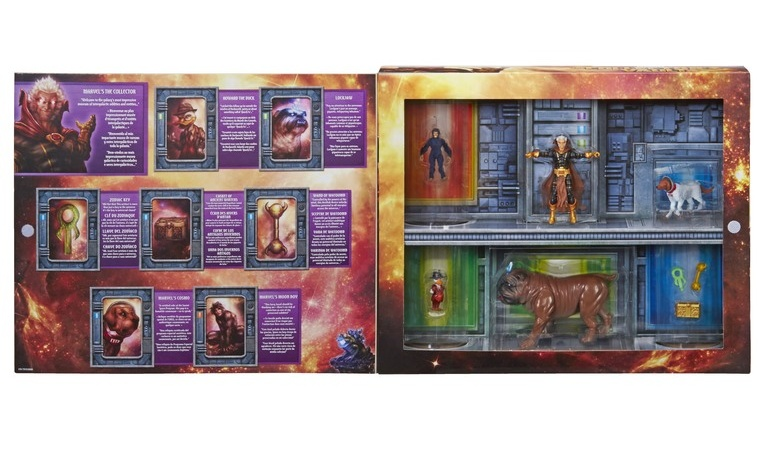 Marvel Legends SDCC exclusive The Collector's Vault - inside package