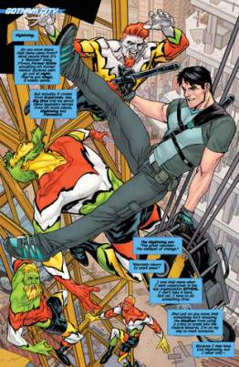 Nightwing Rebirth issue 1 page 1