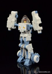 Transformers Masterpiece Bumblebee review -Spike left side