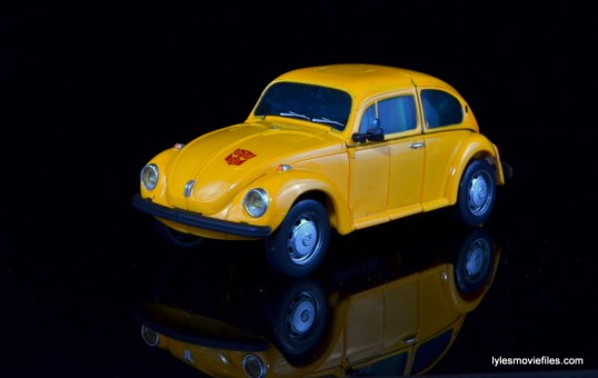 Transformers Masterpiece Bumblebee review -auto mode left side