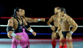 WWE Elite 43 Hart Foundation figures -face off with the Brain Busters