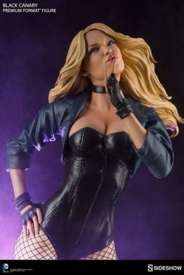 dc-comics-black-canary-premium-format-figure-looking up