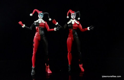 DC Icons Harley Quinn figure review -with DC Classics Harley Quinn