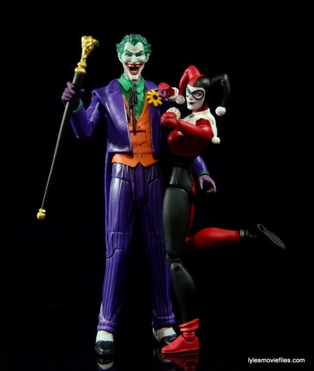 DC Icons Harley Quinn figure review -with Joker