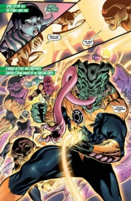 Hal Jordan and the Green Lantern Corps #3 review -Innocents Lost page 3