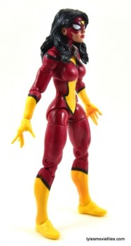 Marvel Legends Spider-Woman figure review - right side