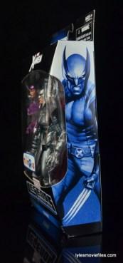 Marvel Legends Stryfe figure review -package side
