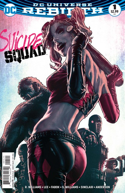 Suicide Squad #1 review variant cover