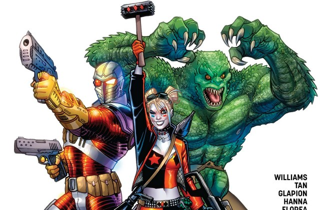 Suicide Squad Rebirth issue 1 variant cover