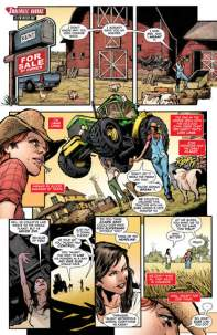 Superwoman issue 1 review page 1