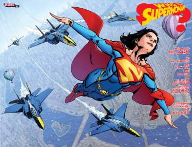 Superwoman issue 1 review page_2-3