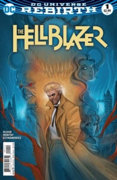 The Hellblazer #1 main cover