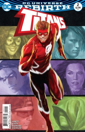 Titans #2 review - variant cover