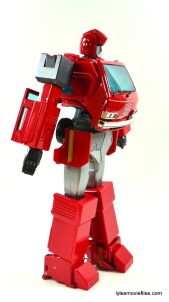 Transformers Masterpiece Ironhide figure review - right side