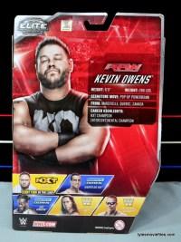 WWE Elite 43 Kevin Owens figure review - rear package