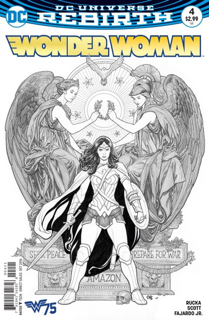 Wonder Woman issue 4 variant Frank Cho cover