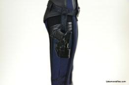 Hot Toys Maria Hill figure -holster closeup
