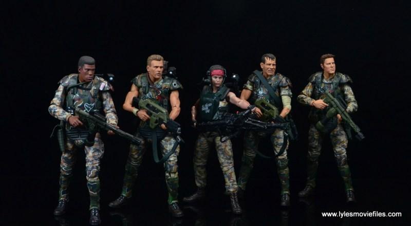 neca-aliens-series-9-pvt-jenette-vasquez-with-frost-hicks-hudson-and-windrix