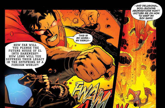 Superman #6 panel art