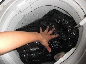 ダウンベストの洗濯方法の手順3.2(洗ってみましょう)