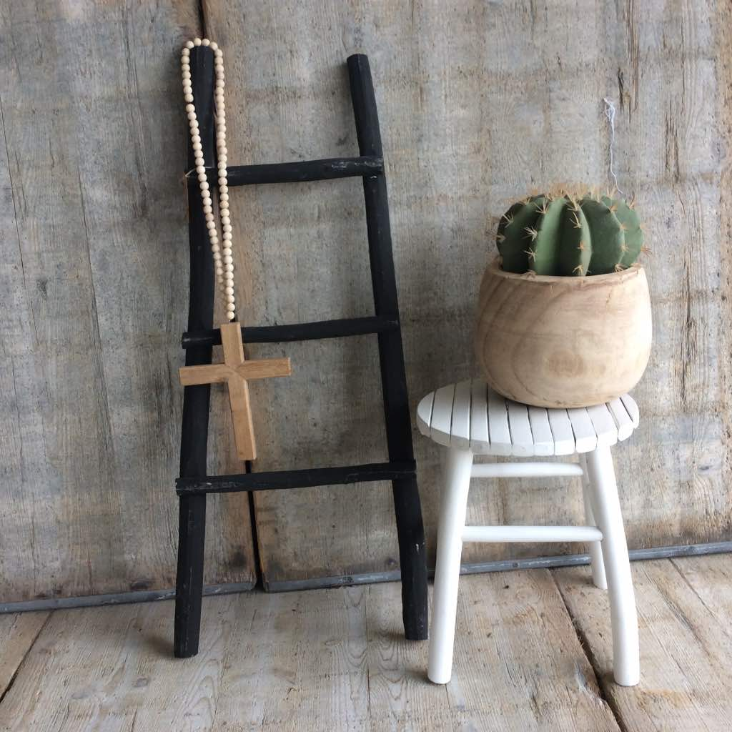 Decoratie Ladder Babykamer Decoratie Ladder Zwart Fabulous Decoratieve Ladder Recycle Cm