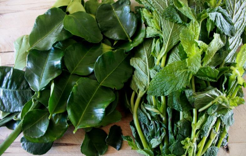 Thai Green Curry - Kaffir Lime and Thai Basil