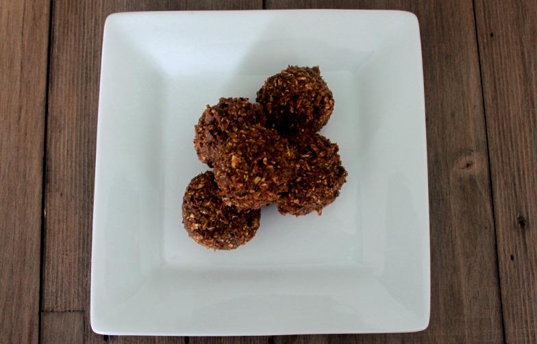 Cherry Almond Protein Bites
