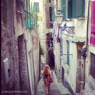 Lynn Gilmartin in San Remo