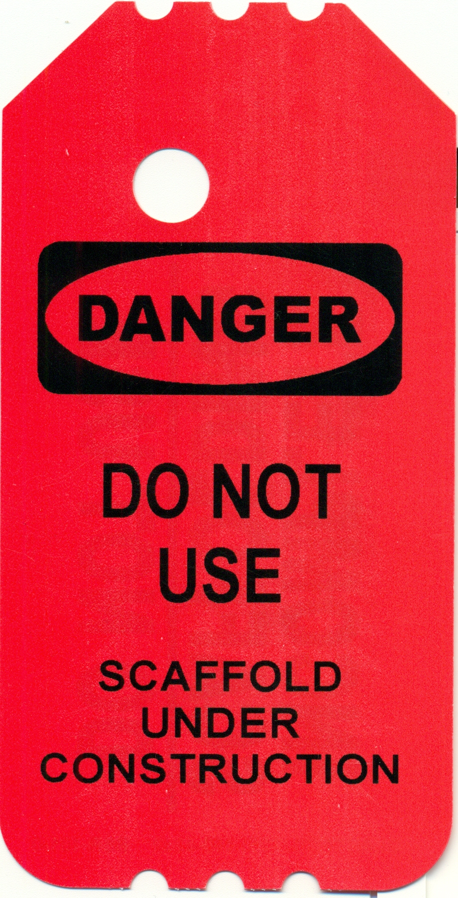 Rolling Cart Scaffold Safety Tags | Scaffold Accessories | Lynn Scaffold