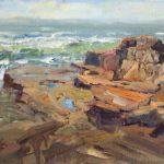 Maine Rocks 12x16