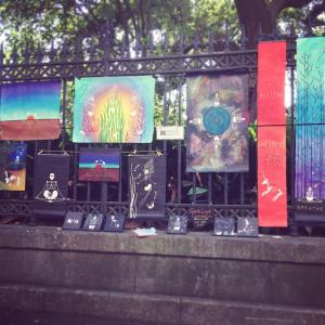 Jackson Square Display by Jenelle Leigh Campion
