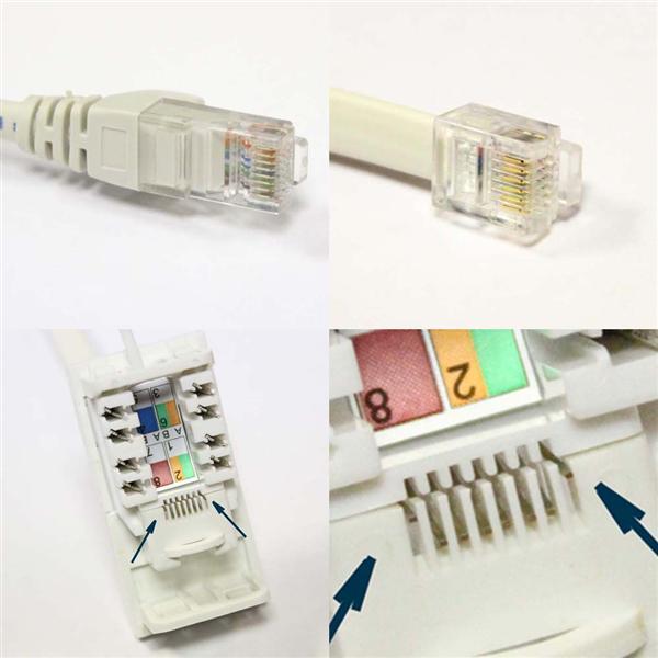 Warning - Don\u0027t Plug and RJ11 Plug into an RJ45 Socket Lynx Networks