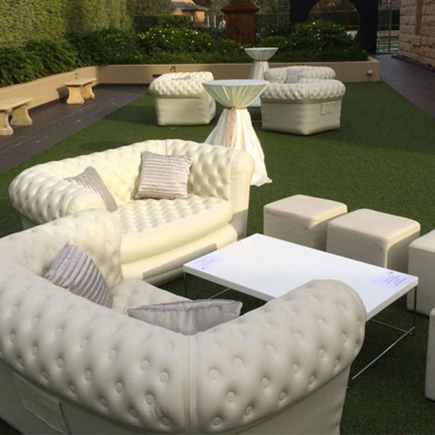 Canapé Gonflable Chesterfield Location Canapé Chesterfield Gonflable Blanc 2 Pl