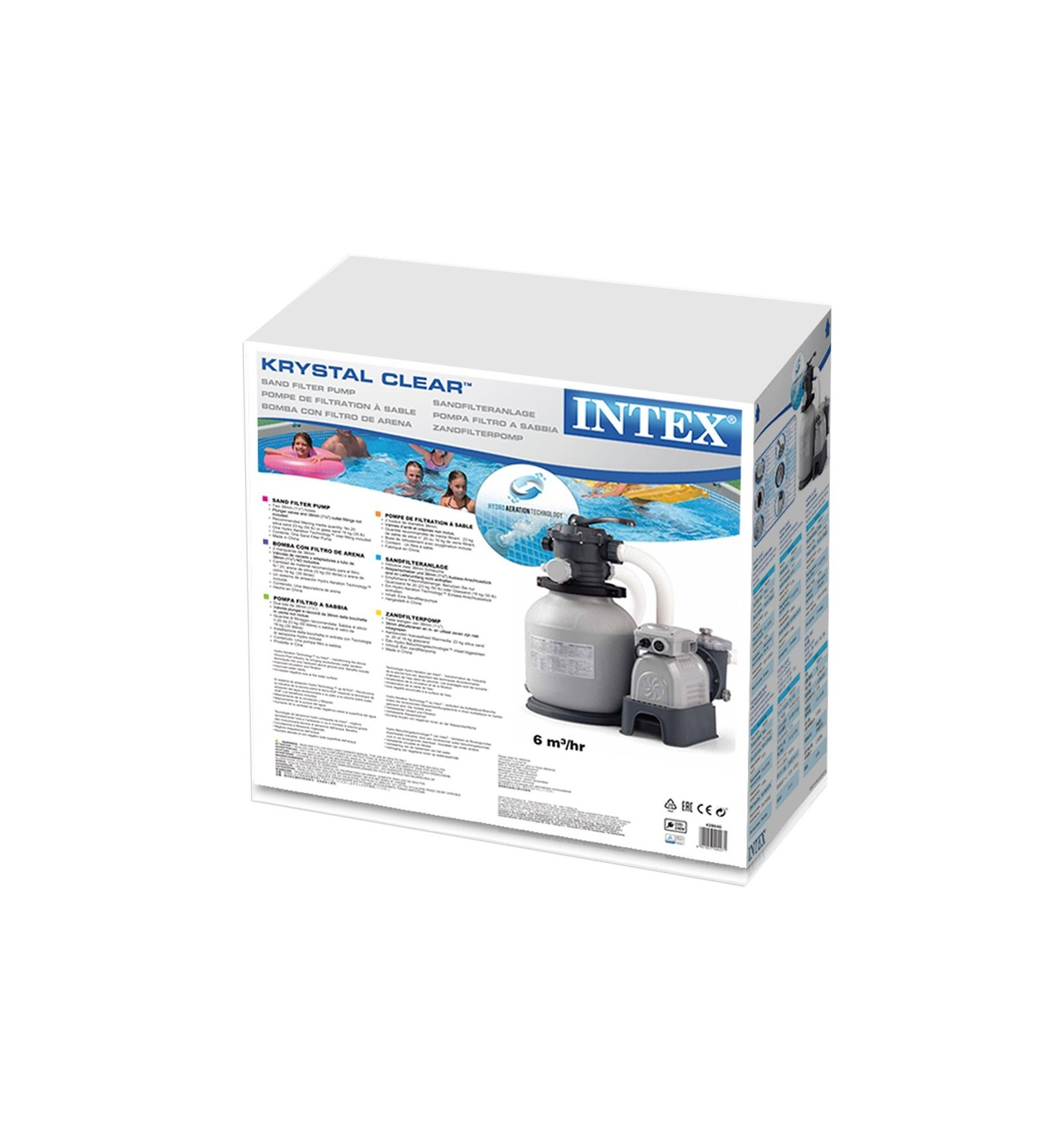 Intex Pool Filter Pump Parts Intex Krystal Clear Sand Filter And Pump 2 100gal Hr